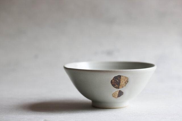 白釉飯碗(大)の画像1枚目