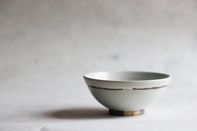 白釉飯碗(小)の画像1枚目