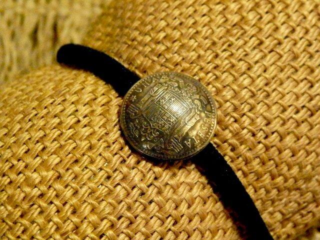 #H123 España Coin Hair Elasticの画像1枚目