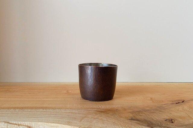 【 iichi 期間限定モデル 】銅製 ちょい飲みグラス 錫引き #2の画像1枚目
