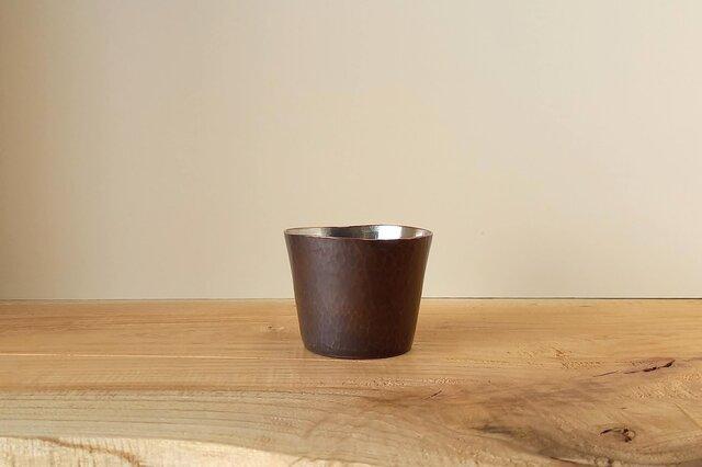 【 iichi 期間限定モデル 】銅製 ちょい飲みグラス 錫引き #1の画像1枚目