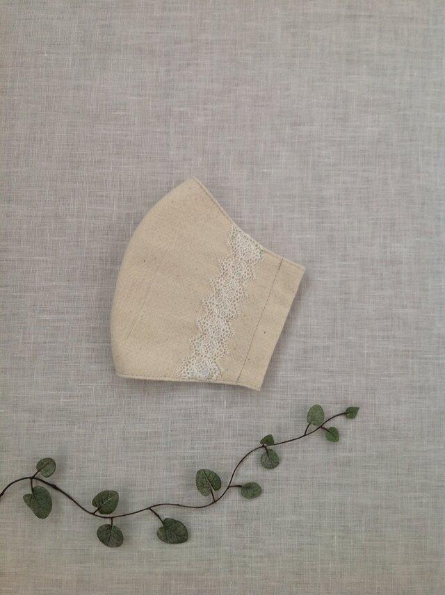 木綿 の マスク  * 送料無料 *の画像1枚目