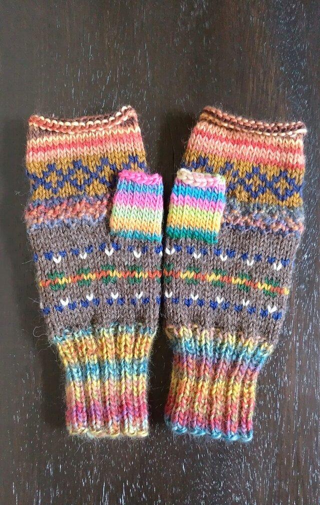 手編み手袋 #6の画像1枚目