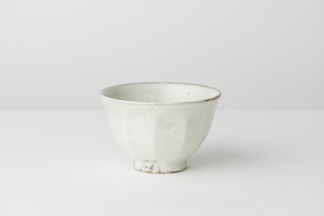 粉引面取飯茶碗(小)の画像1枚目