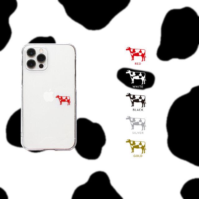 牛さんとりんご iPhoneケース12Pro 〜各種の画像1枚目