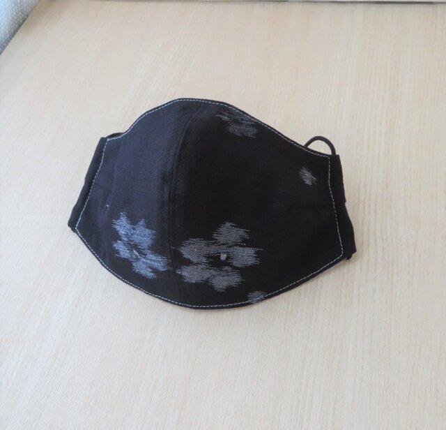 久留米絣 マスク の画像1枚目