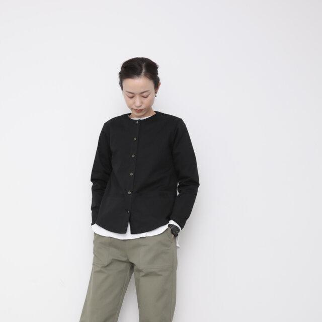 Paris jacket / blackの画像1枚目