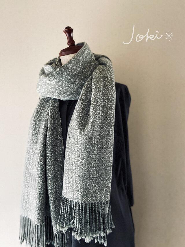 [Y様専用ご注文品] 手織りカシミヤショール *他の方はご購入できません。の画像1枚目