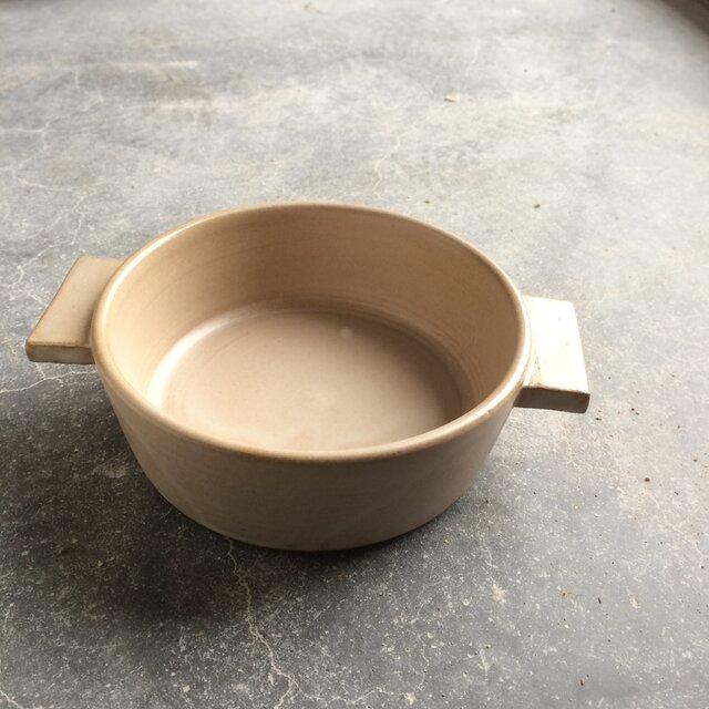 耐熱 グラタン皿 モカ(ブラウンベージュ)の画像1枚目