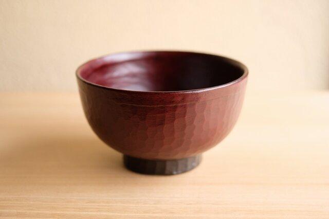 栃・手削り汁椀 12.2cmの画像1枚目