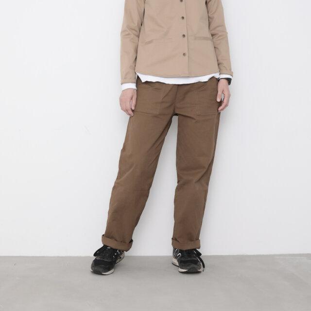 Baker pants / russet brownの画像1枚目