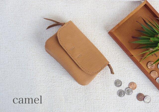柔らかなお財布(camel)の画像1枚目