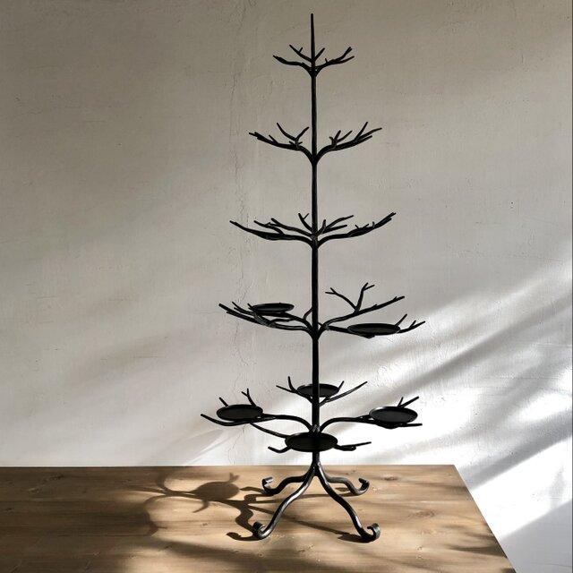 M様オーダー品 アイアン製クリスマスツリーの画像1枚目