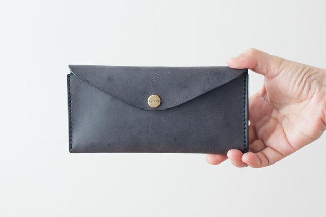 BRIDLE  長財布 / ブラック※受注製作の画像1枚目