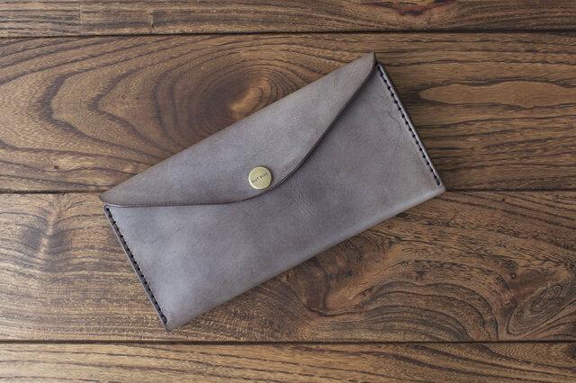 BRIDLE  長財布 / チョコ※受注製作の画像1枚目