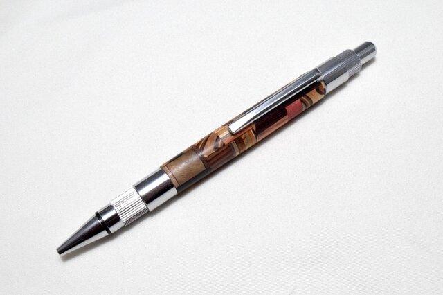 【寄木】手作り木製シャープペンシル 2.0mm芯の画像1枚目