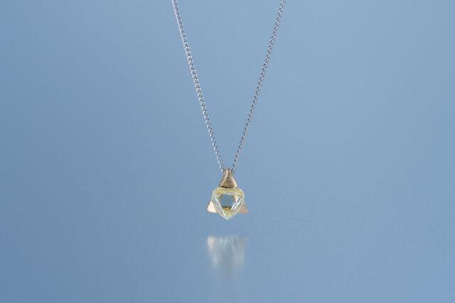 Gazzara ダイヤモンド原石ネックレスの画像1枚目