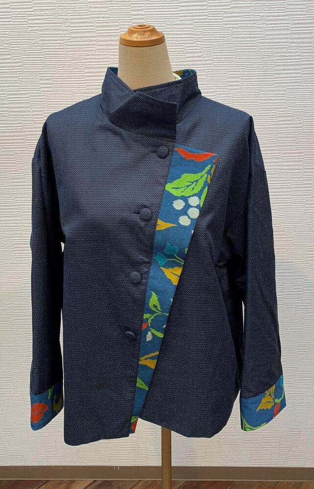 ジャケット(着物リメイク)(男大島)の画像1枚目