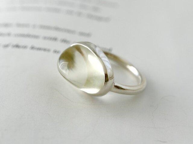 月兎のmoonストーン ringの画像1枚目