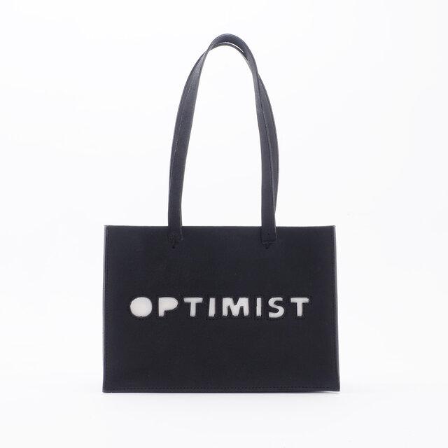PartyBag for Optimist(黒)/牛革/PB001の画像1枚目