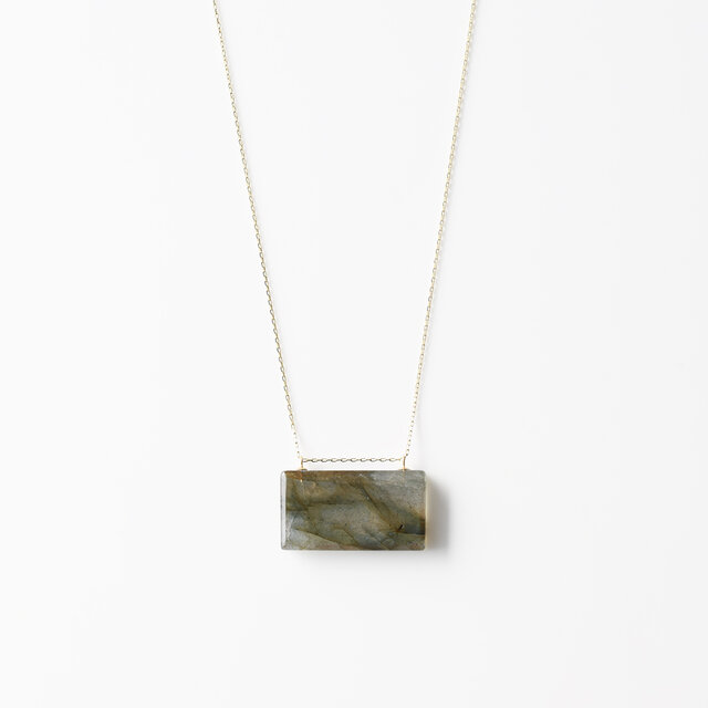 天然石ネックレス/ラブラドライトの画像1枚目
