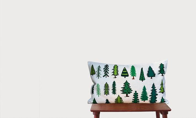 森のクッション Various forest trees -ヒノキの香り-の画像1枚目