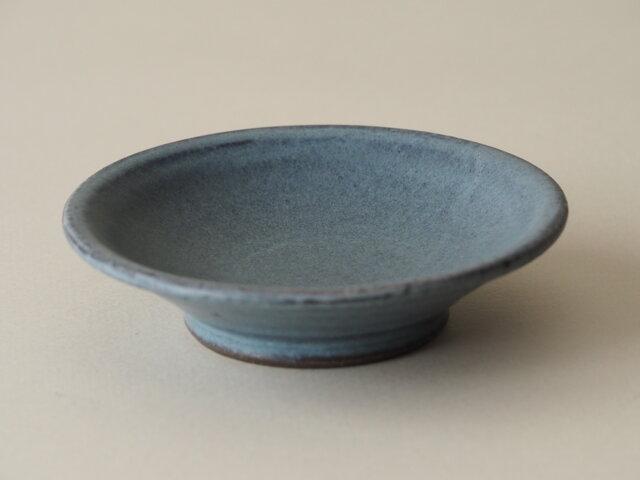 青彩端反小皿の画像1枚目
