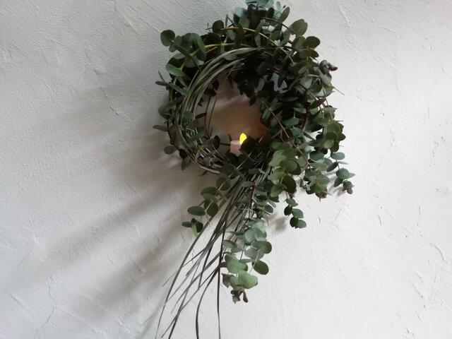 wreath-ユーカリとレモングラスの画像1枚目