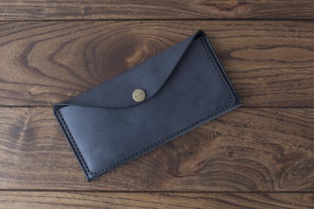 BRIDLE  スリム長財布 / ブラック※受注製作の画像1枚目