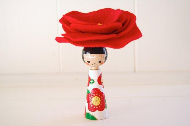 *あなたの為に咲く花*指人形・hand puppet[82]の画像1枚目