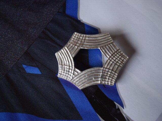 ブローチ(銀彩) L-10の画像1枚目