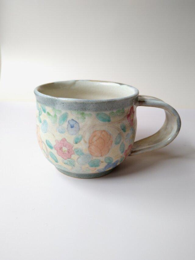 更紗みのりコーヒーカップ aの画像1枚目