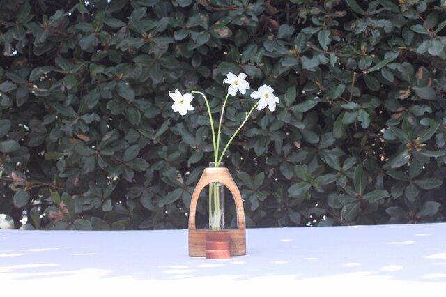 木の花瓶【ニレ】の画像1枚目