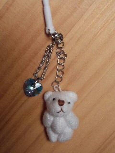 白熊とスワロフスキーのスマピの画像1枚目