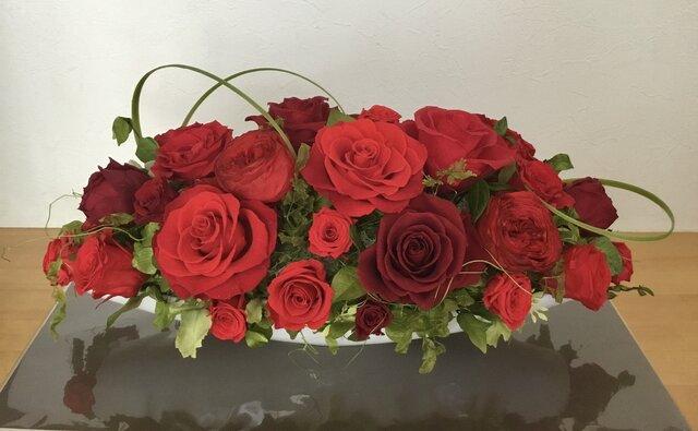 Anniversary Red Rosesの画像1枚目