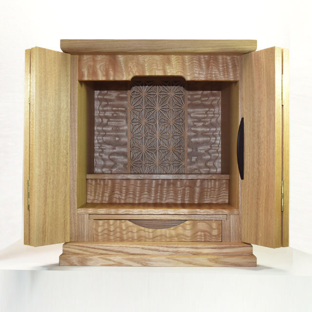 遺品を使い製作した お仏壇 オーダ仏壇の画像1枚目