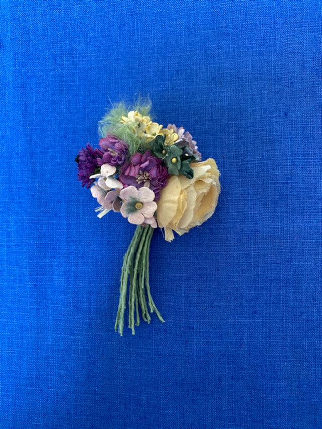 布花 Corsage petit bouquet Hの画像1枚目