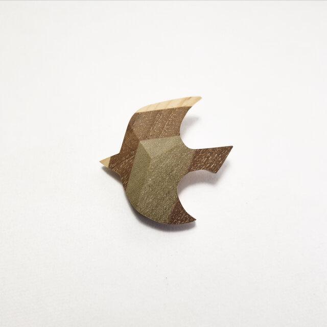 小鳥のブローチの画像1枚目