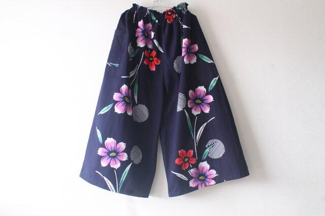 ☆浴衣ガウチョパンツ☆【再販】/31yg02の画像1枚目