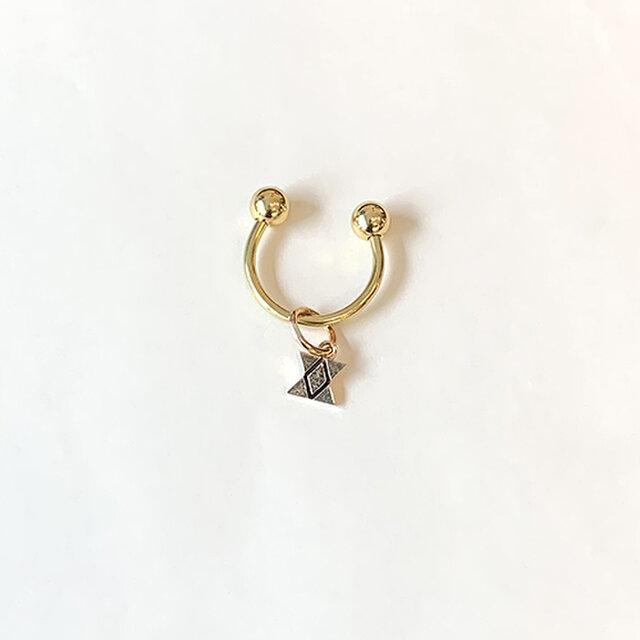 真鍮針突柄曲金具鍵束イチチブシ rz-32の画像1枚目