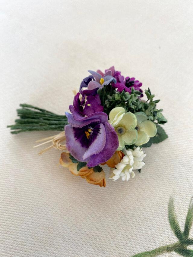 布花 Corsage petit bouquet Iの画像1枚目