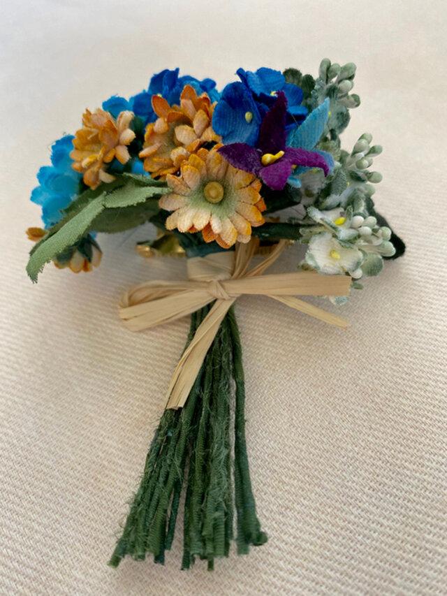 布花 Corsage petit bouquet Kの画像1枚目
