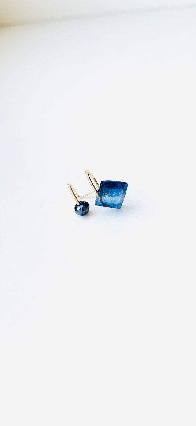 14kgf  kyanite * bleuの画像1枚目