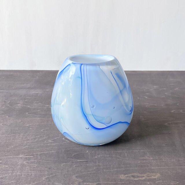 縷々 青・楕円の画像1枚目