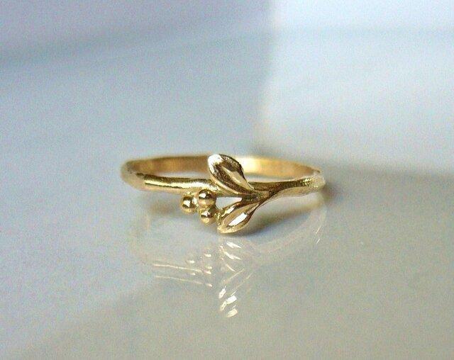「受注製作 マートルのK10の指輪」の画像1枚目
