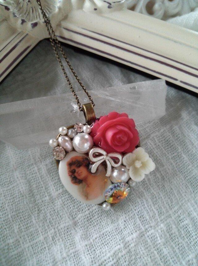 *Posy*  ハートの花束の画像1枚目