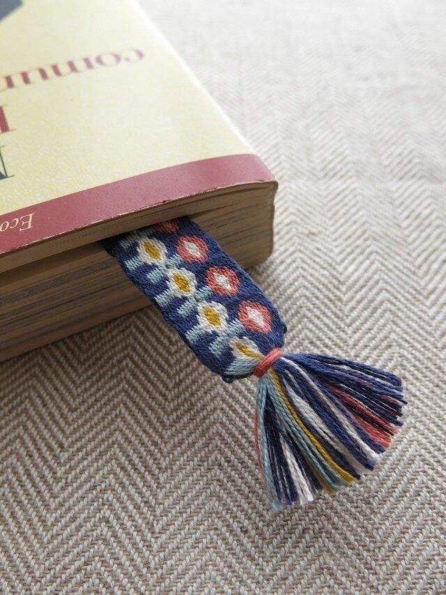 カード織りブックマーク ::blommor::の画像1枚目