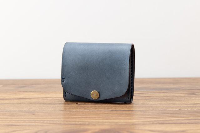 BRIDLE  二つ折り財布2/ ネイビーの画像1枚目