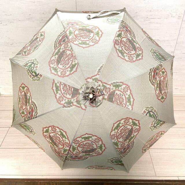 白大島の日傘 夏木立の画像1枚目