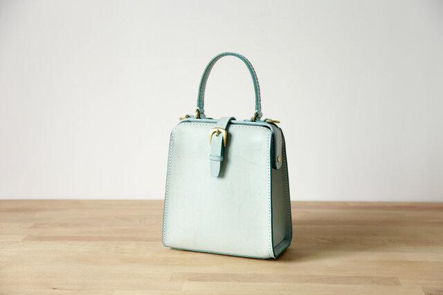 【切線派】たるマチ2WAY 鞄 がま口 本革手作りショルダーバッグ 総手縫い 手持ち 肩掛けの画像1枚目